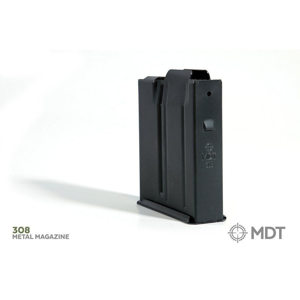 MDT Metal Magazine Short Action 308 10 rounds without binder plate
